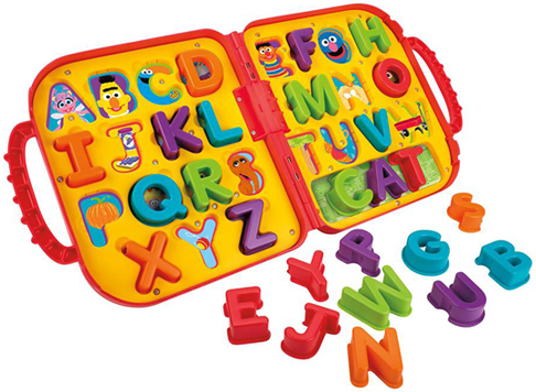Elmo's On the Go Letters
