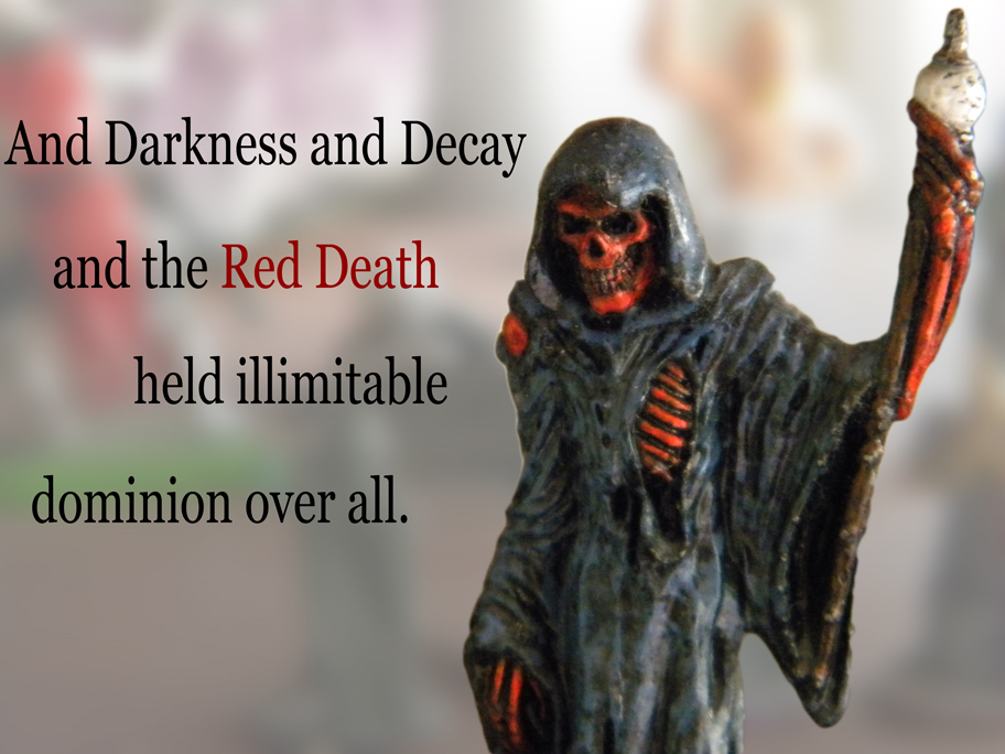 """masque red death thesis """"the masque of the red death"""" is a remarkable and bloodcurdling story written by edger allan poe, who is very crafty in the gothic stories by."""